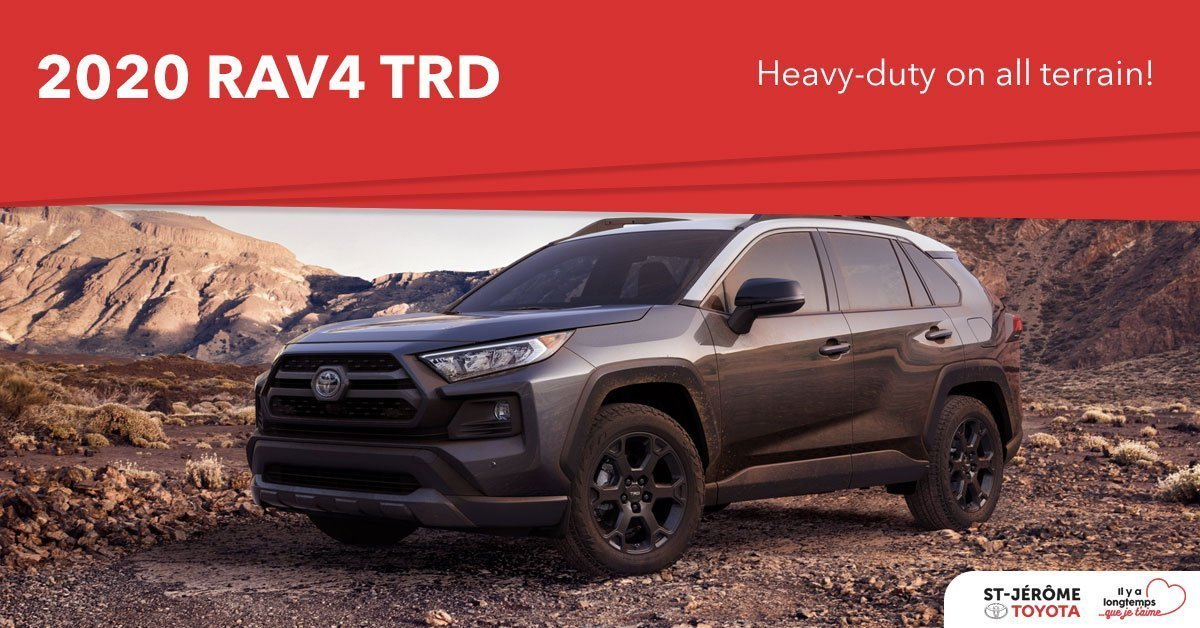 The 2020 Toyota Rav4 Trd Heavy Duty On All Terrain